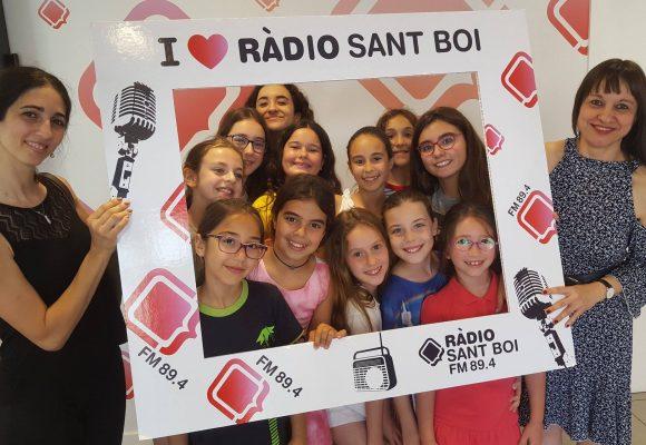 LA JOVE VISITA LA RADIO DE SANT BOI